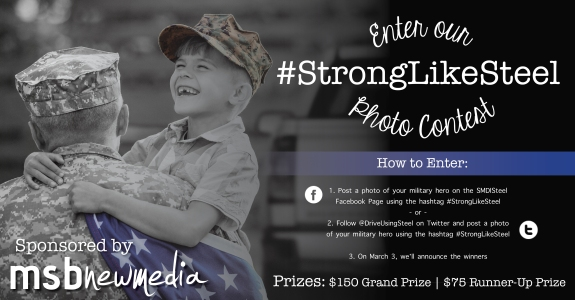 Strong Like Steel Graphic