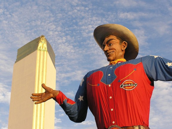 Big Tex welcomes you to the State Fair of Texas