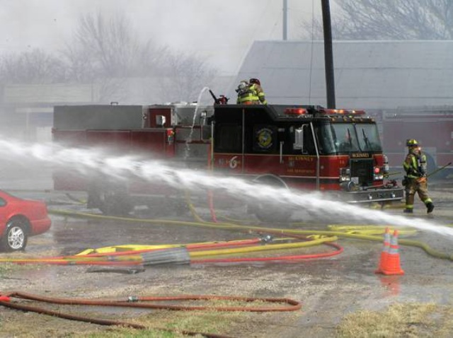 Truck at Fire
