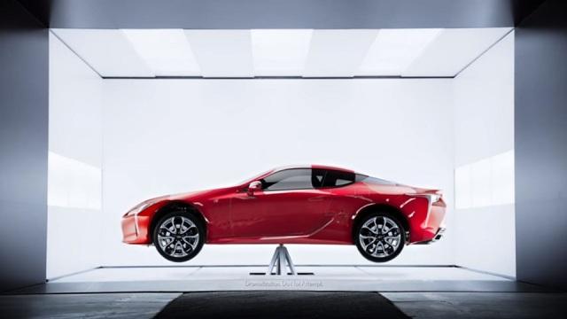Lexus LC 500 balancing
