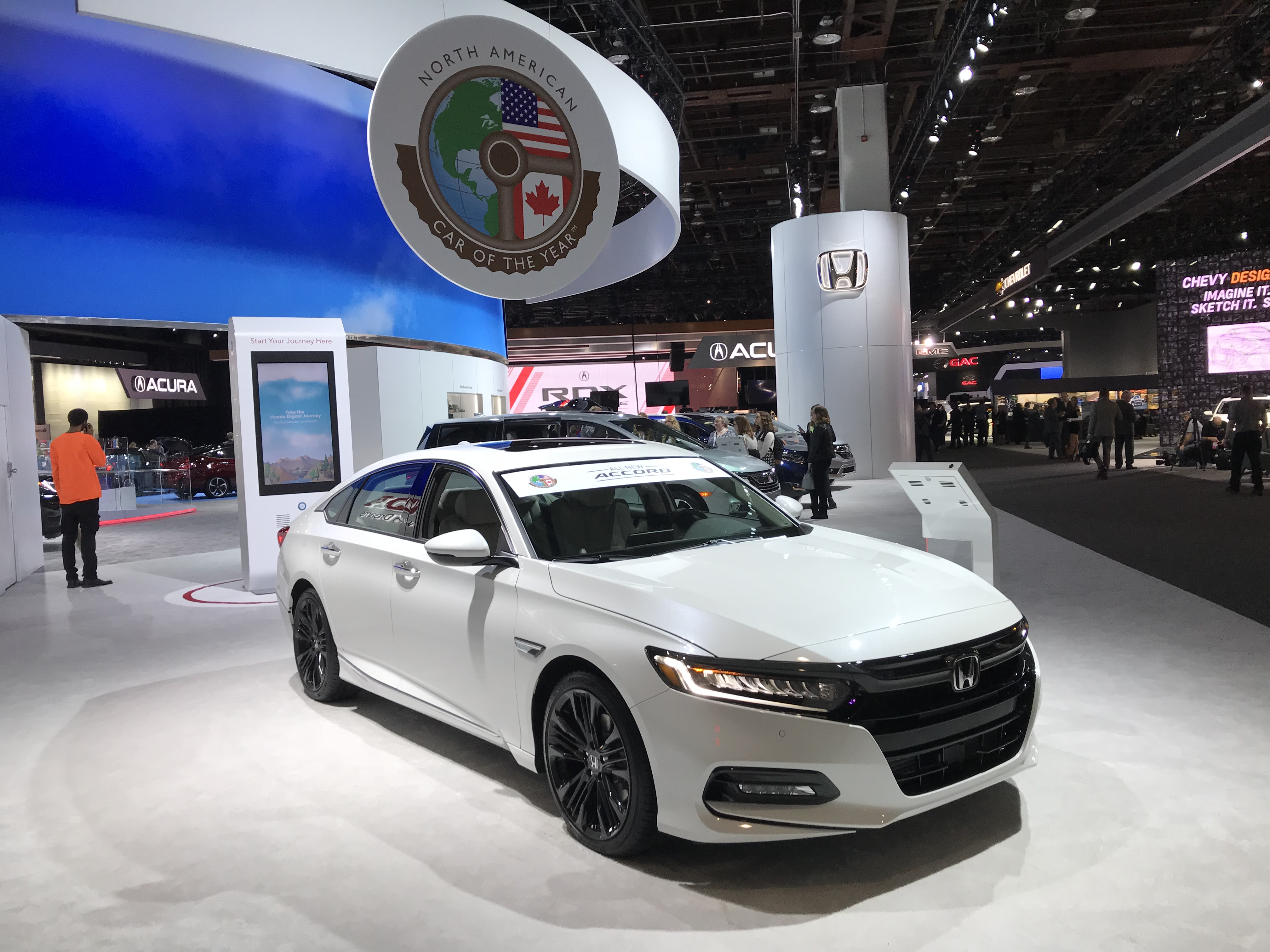 Honda Raised The Bar With Its 2018 Accord Moving Away From Conventional Appearance Known For Reliability Is Composed Of 29 Percent